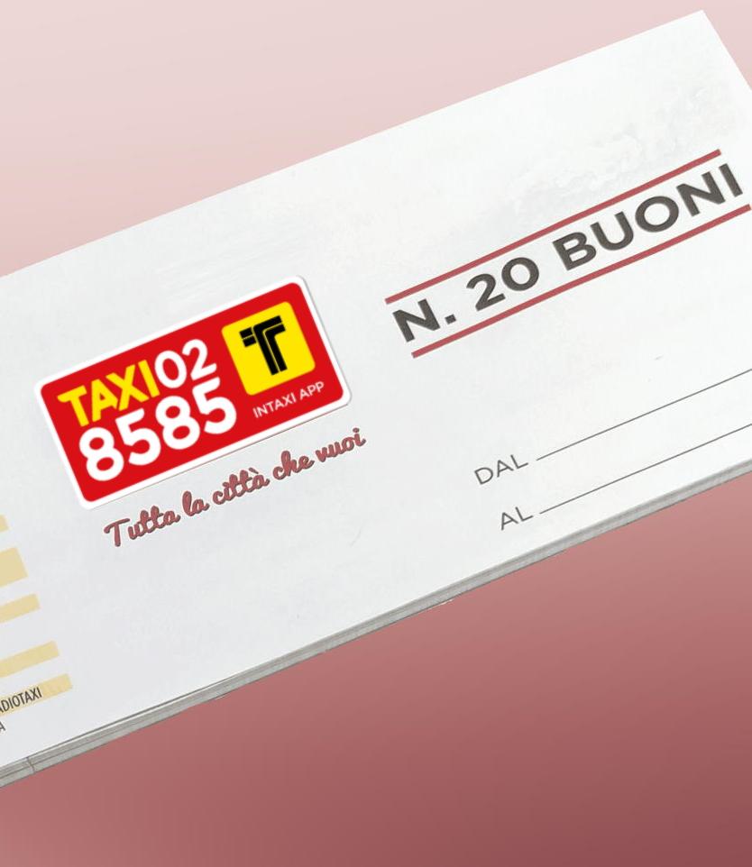 abbonamento cartaceo taxi milano torino roma - intaxi partner