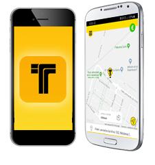prenota il tuo taxi tramite app grazie a Intaxi
