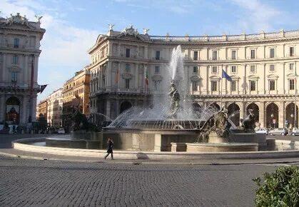 taxi a piazza delle repubblica a roma - prenotazione taxi via app INTAXI