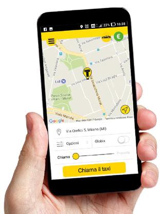 Prenota ora la tua corsa in taxi e paghi direttamente online