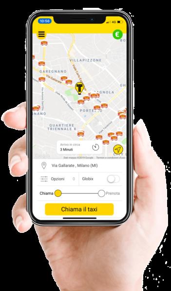 intaxi - prenotazione taxi via web